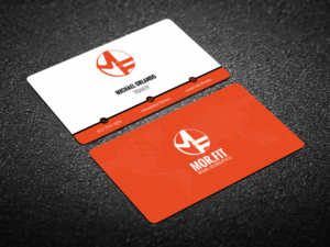 Clever business card design galleries for inspiration fit michael orlando fitness needs a clever business card using the logo colourmoves