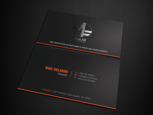 Abbreviation business card designs 229 abbreviation business cards fit michael orlando fitness needs a clever business card using the logo colourmoves