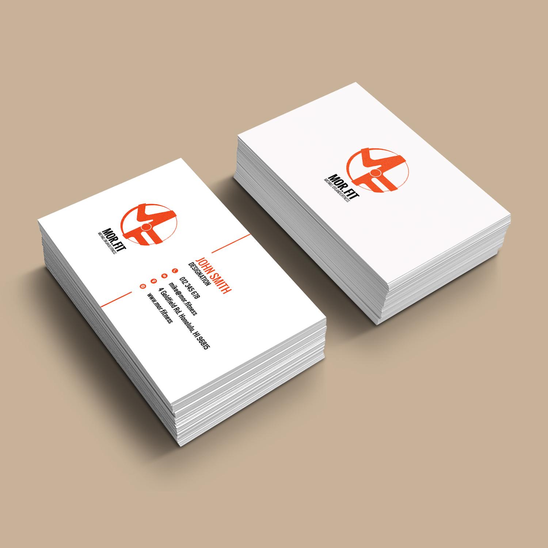 Design De Carte Visite Par Bdesigner9 Pour Michael Orlando Fitness