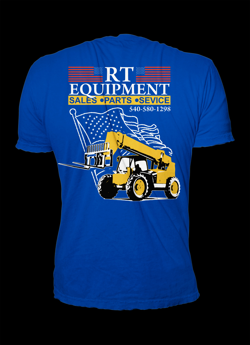 Elegant Playful T Shirt Design For Rough Terrain Equip