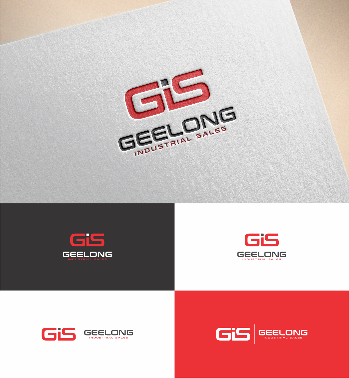 Bold masculine industrial logo design for gis by mkr design bold masculine industrial logo design for geelong industrial sales in australia design 16604607 reheart Choice Image
