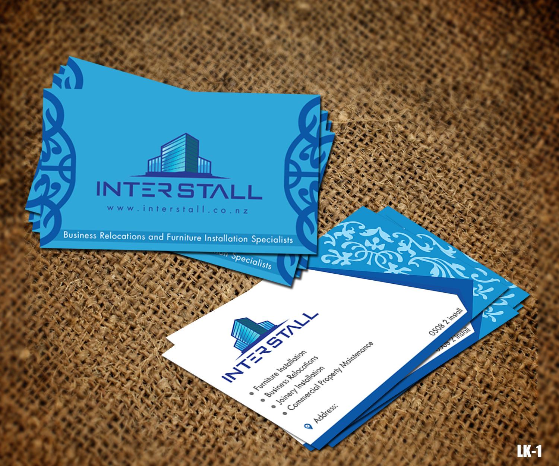 179 Serious Business Card Designs   Trade Business Card Design ...