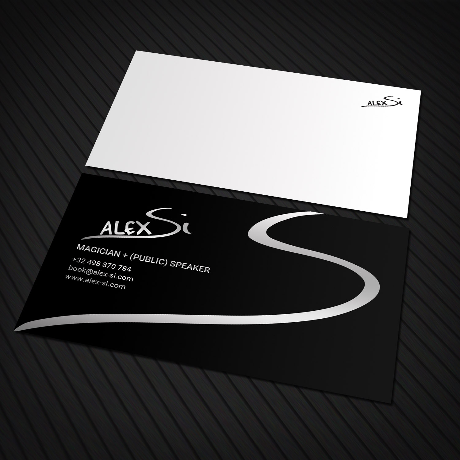 Modern professional artists business card design for a company by business card design by sandaruwan for this project design 16640388 reheart Choice Image