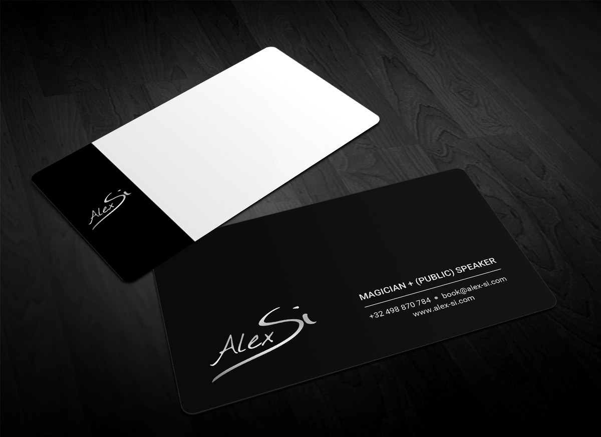 Modern professional artists business card design for a company by business card design by sandaruwan for this project design 16642289 reheart Choice Image