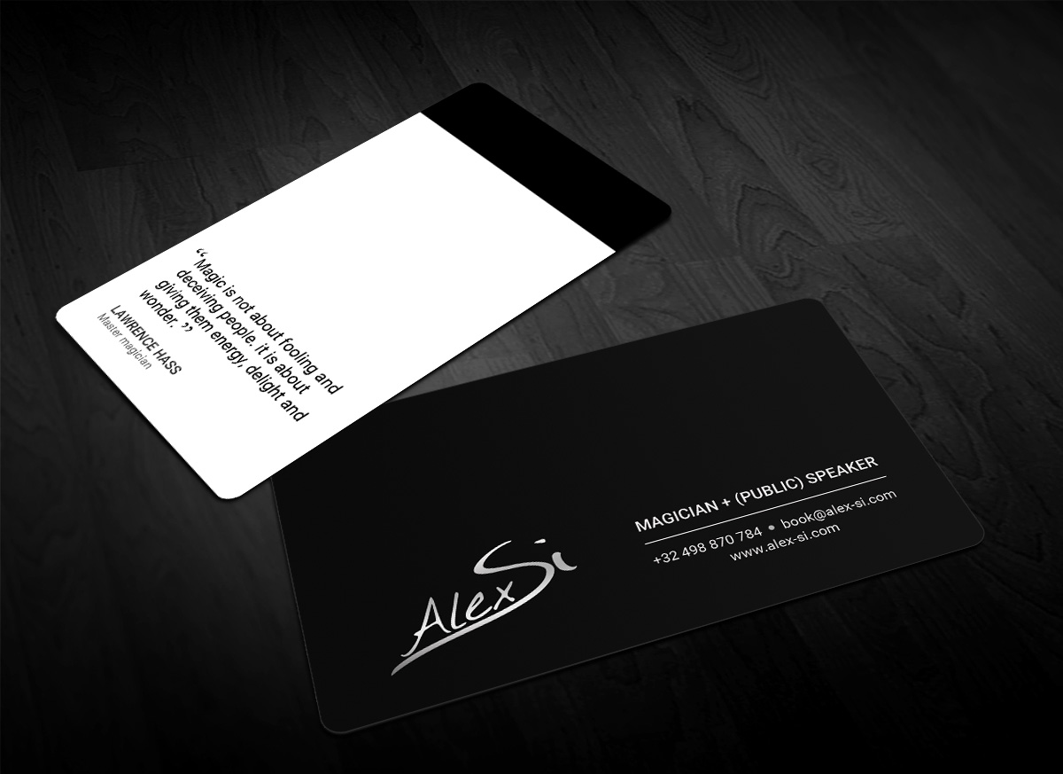 Modern, Professional, Artists Business Card Design for a Company by ...