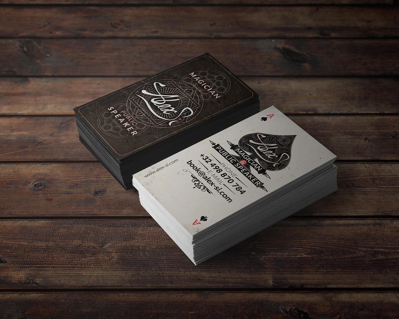 Modern, Professional Business Card Design for Alex Si by keeru ...