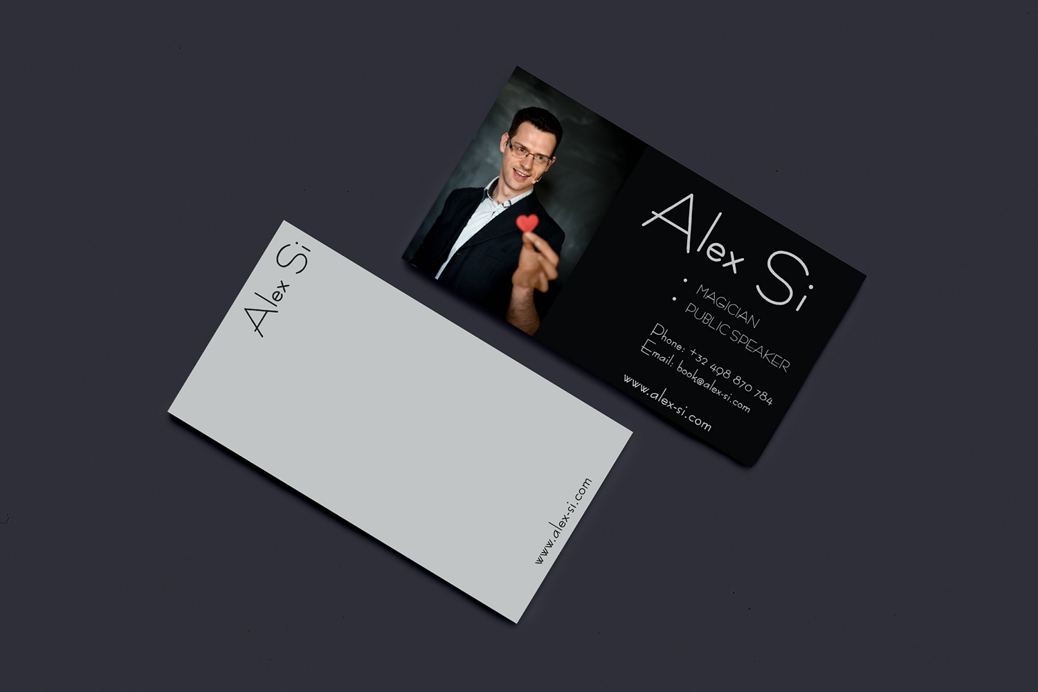 Modern, Professional Business Card Design for Alex Si by Sushil ...