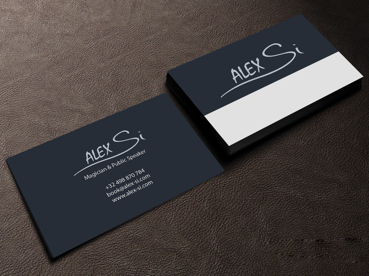 Modern, Professional Business Card Design for Alex Si by Creations ...