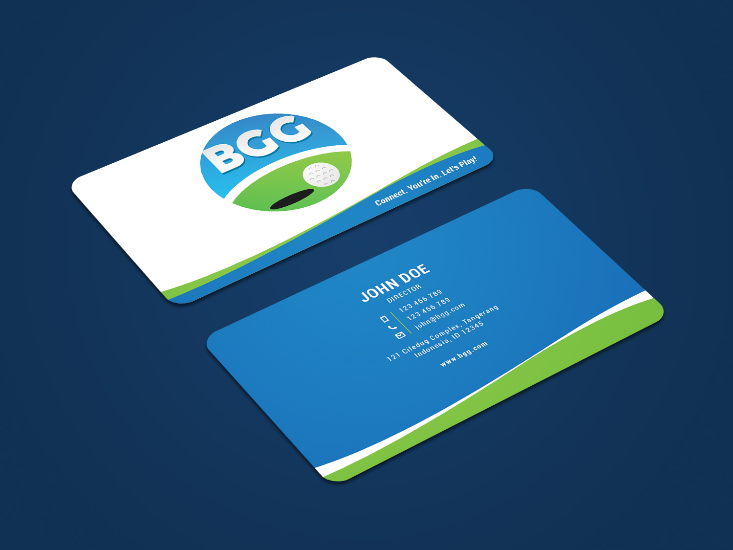 Elegant, Playful, Golf Course Business Card Design for a Company by ...