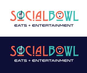 SocialBowl Eats & Entertainment  | Logo Design by Simon Hon