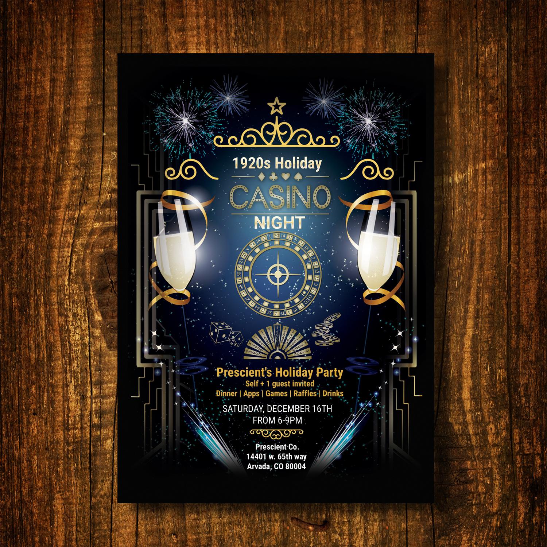 Elegant professional construction company invitation design for a invitation design by uk for this project design 16641853 stopboris Image collections