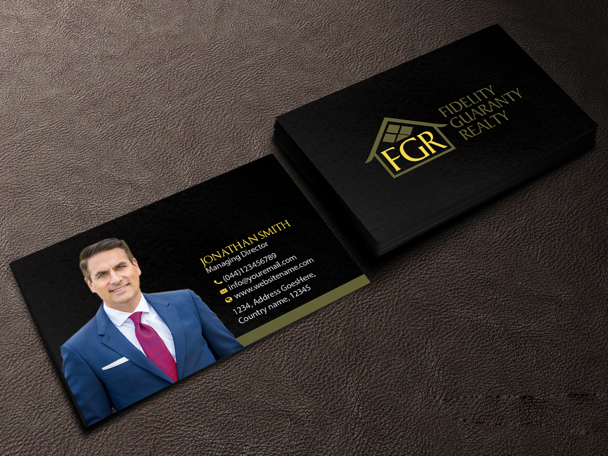 146 modern business card designs real estate agent business card business card design by creations box 2015 for this project design 16643638 reheart Gallery