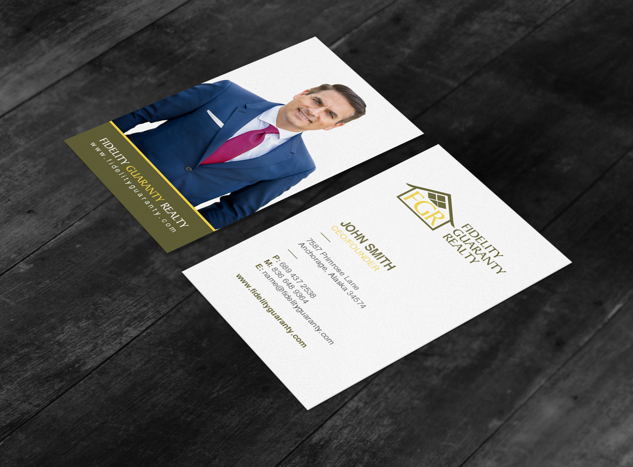 Modern upmarket real estate agent business card design for a business card design by chandrayaaneative for this project design 16638218 colourmoves