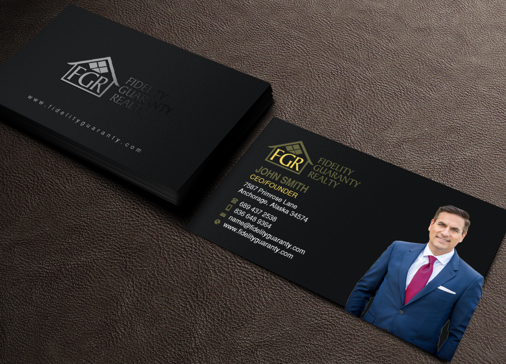 Modern upmarket real estate agent business card design for a business card design by chandrayaaneative for this project design 16639931 colourmoves