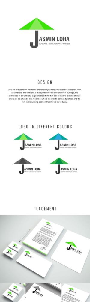 Elegant, Playful, Insurance Logo Design for Jasmin Lorch