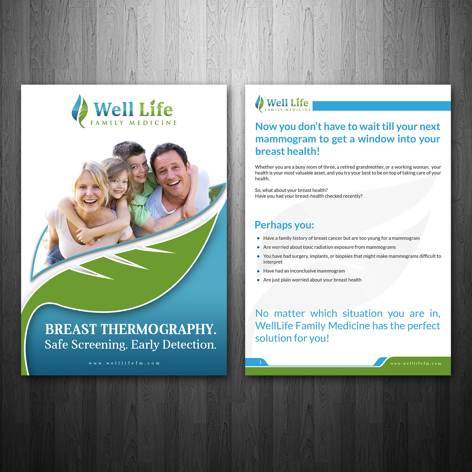 medical brochure design for a company by hih7 design 16651373