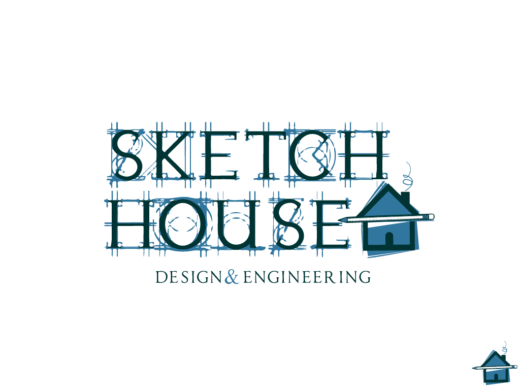 Bold Serious Architecture Logo Design For Sketch House Design Engineering By Tom Victorious Wilkinson Design 16675166