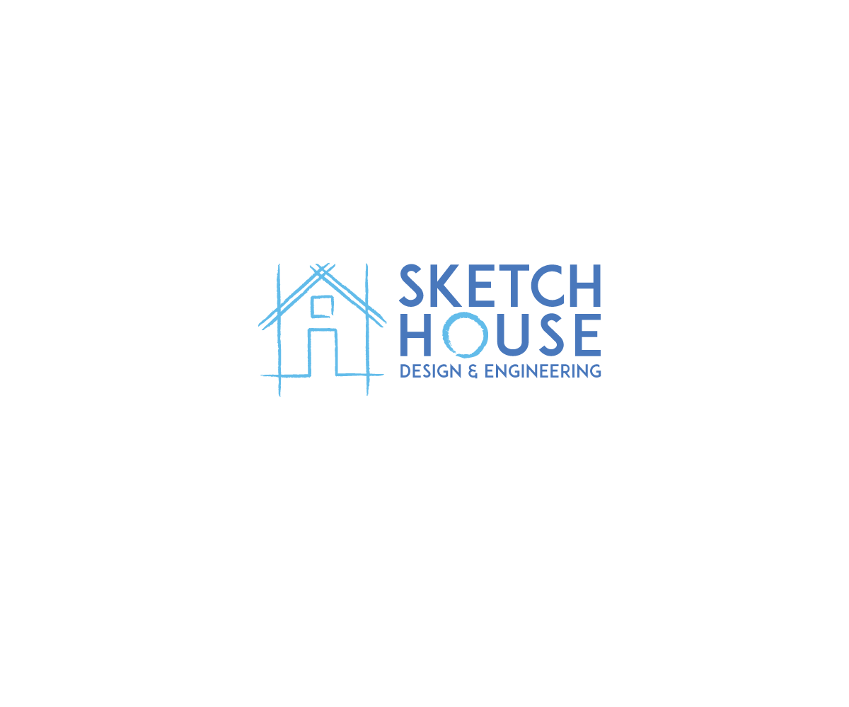 House design logo - Logo Design By Bucktornado For Fresh New Architectural And Engineering Drafting Company Specializing In House Design