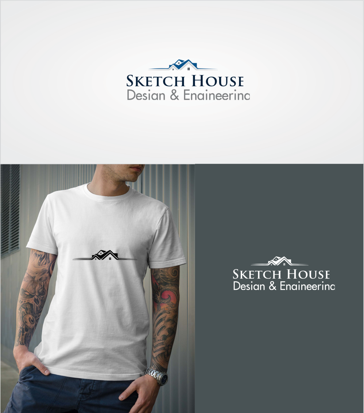 85ded956ba51e Bold, Serious, Architecture Logo Design for Sketch House (Design ...
