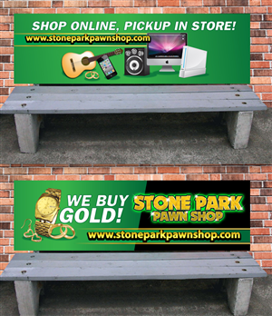 Advertisement Design by earldesigns - 2 Park Bench Advertisements