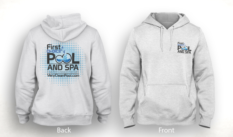 Colorful playful pool service t shirt design for first for T shirt design service