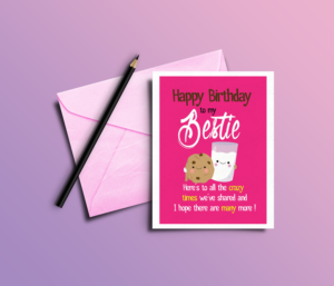 Serious Elegant Greeting Card design job Greeting Card brief for