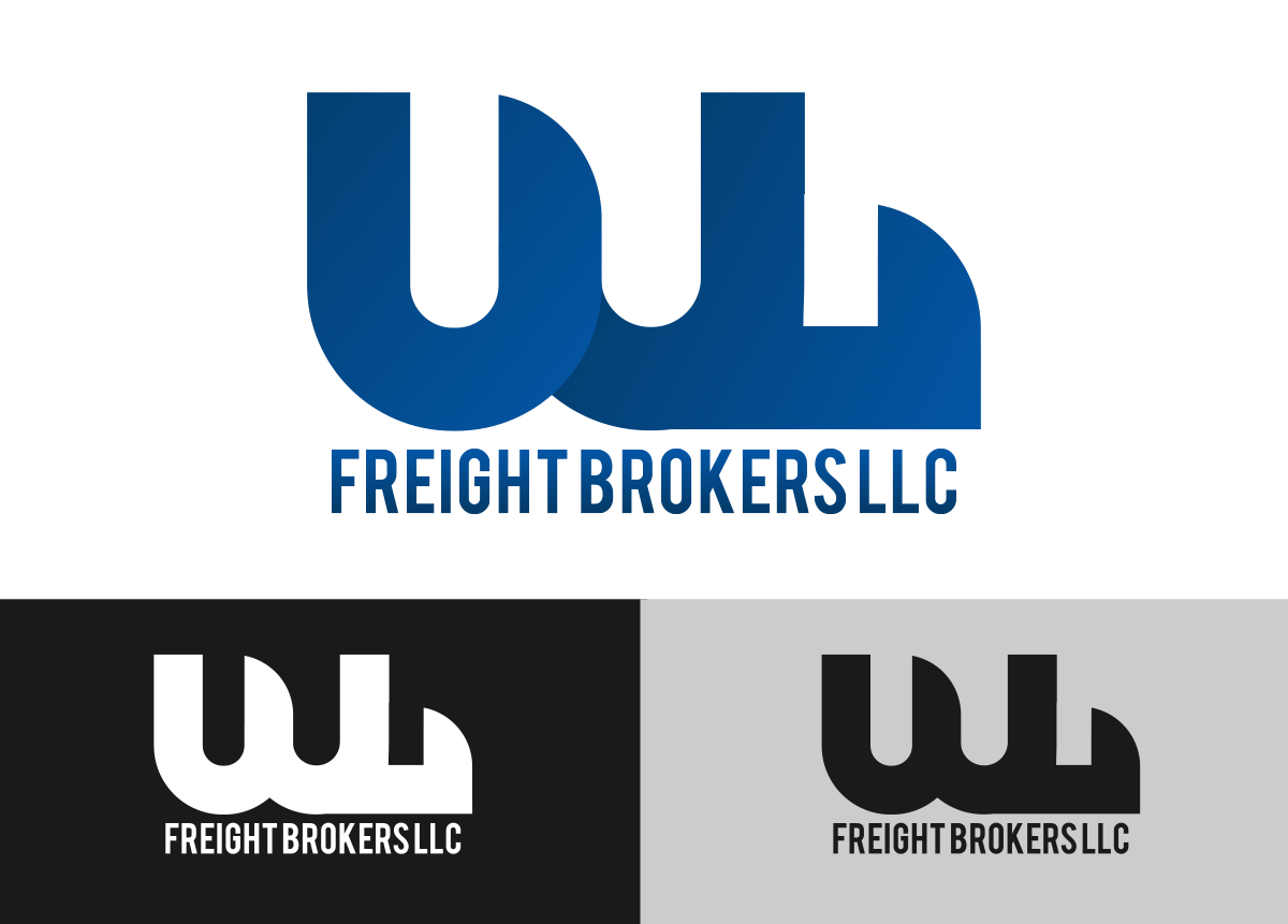 Professional Modern Logo Design For Wl Freight Brokers