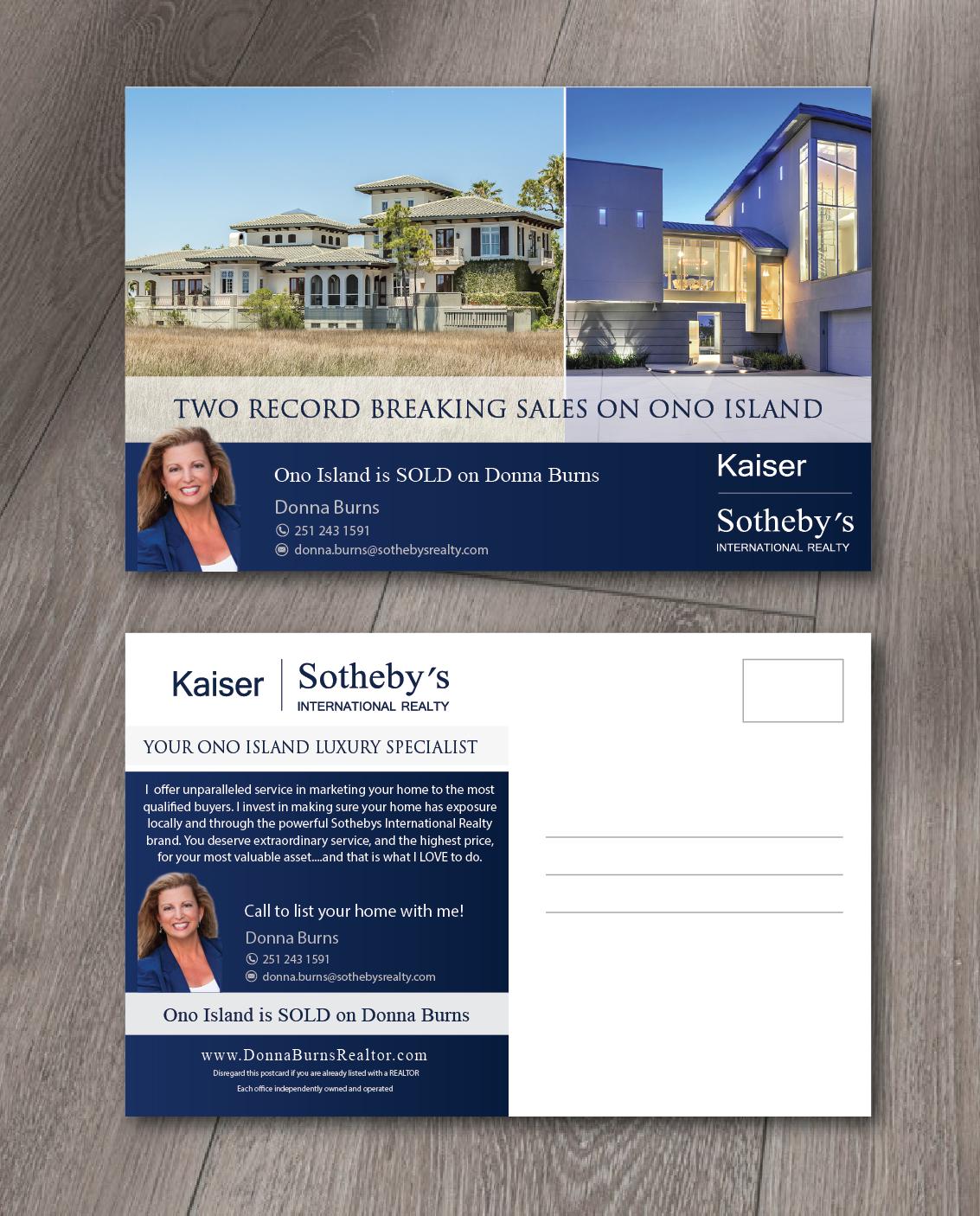 Upmarket Property Development Brochures : Elegant upmarket postcard design for donna burns by