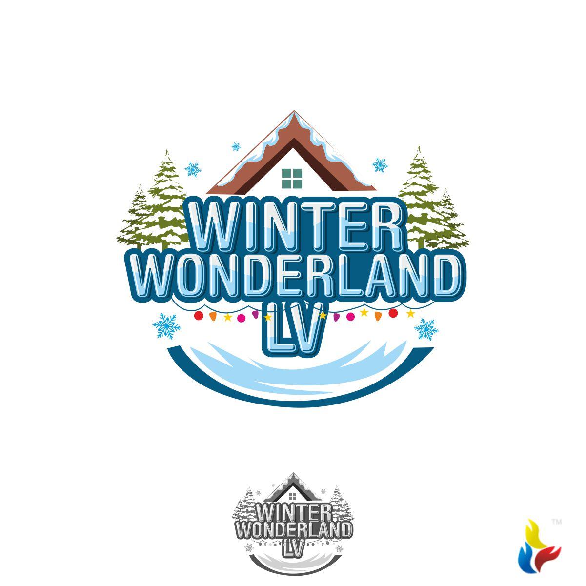 Playful Colorful Festival Logo Design For Winter