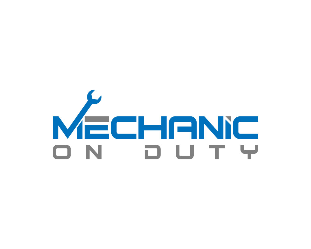elegant playful mechanic logo design for mechanic on duty by blue rh designcrowd com auto mechanic logo design mechanic logo design