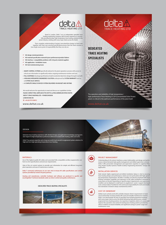 Professional, Masculine, Power Generation Flyer Design for