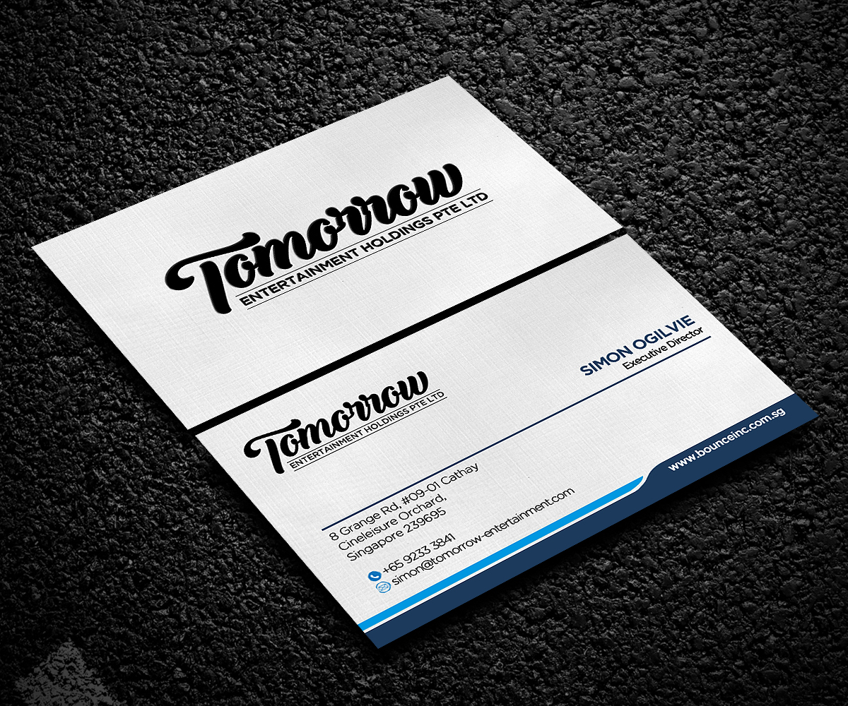 Upmarket, Professional, Business Business Card Design for a Company ...