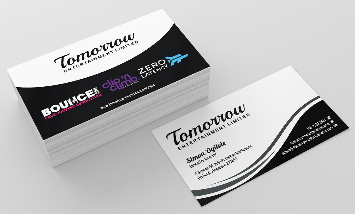 Upmarket, Professional Business Card Design for Simon Ogilvie by ...