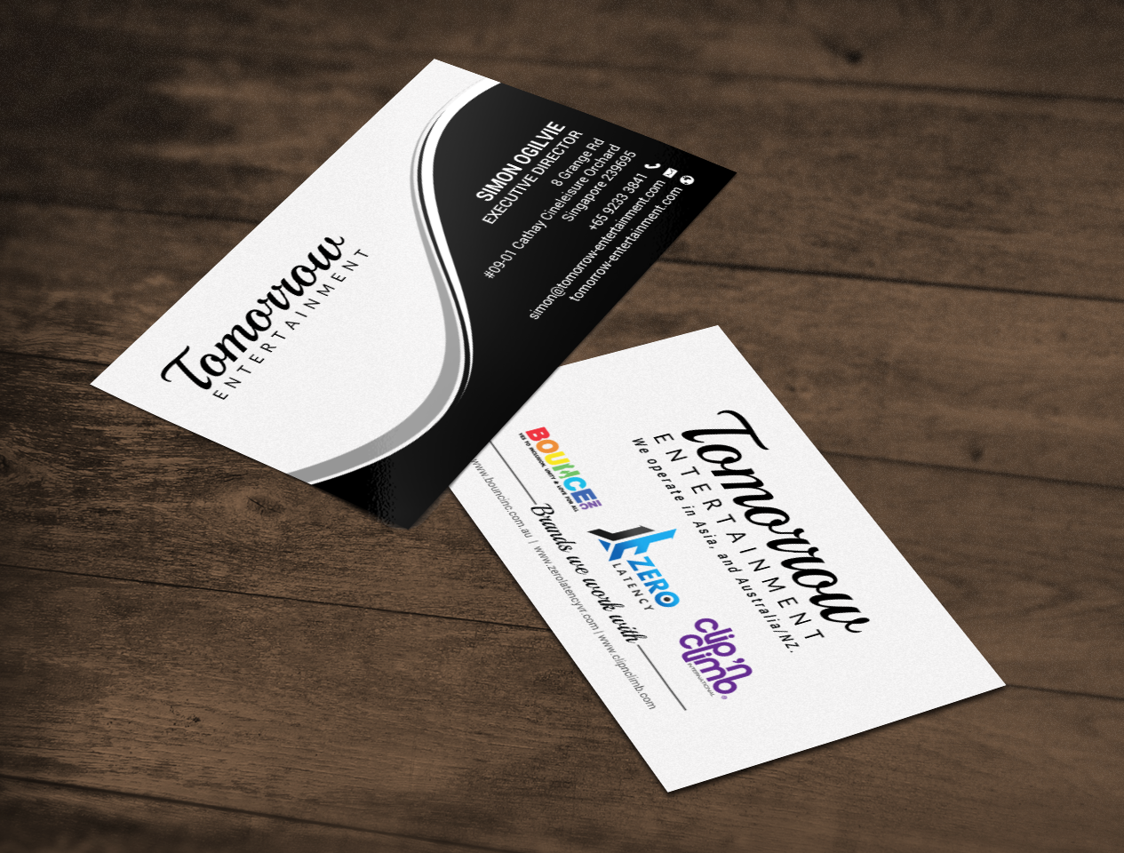 Upmarket professional business business card design for a company business card design by chandrayaaneative for this project design 16771403 colourmoves