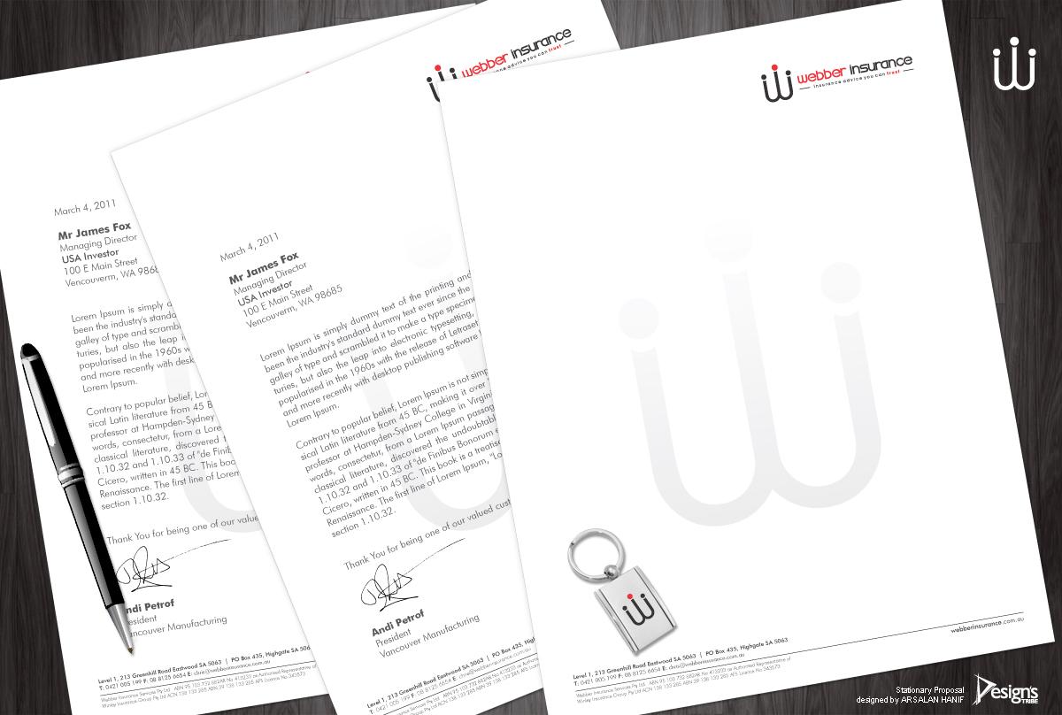 modern letterhead designs