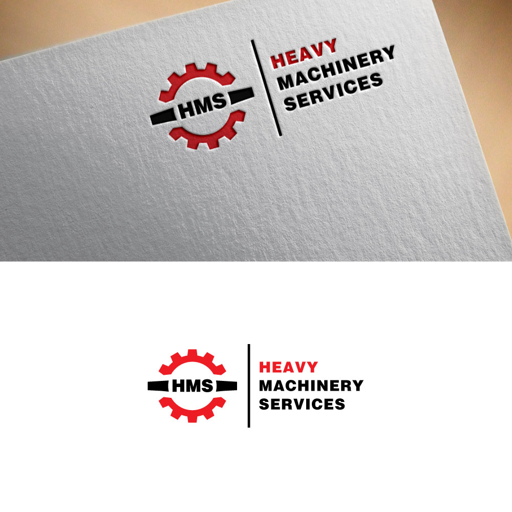 Modern, Serious, It Company Logo Design for Heavy Machinery Services ...