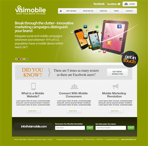 Consumer Website Design 643135