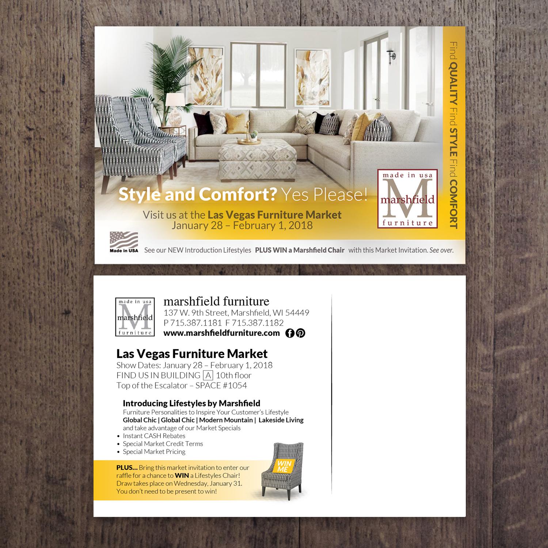Upmarket, Professional, Home Furnishing Postcard Design for ...