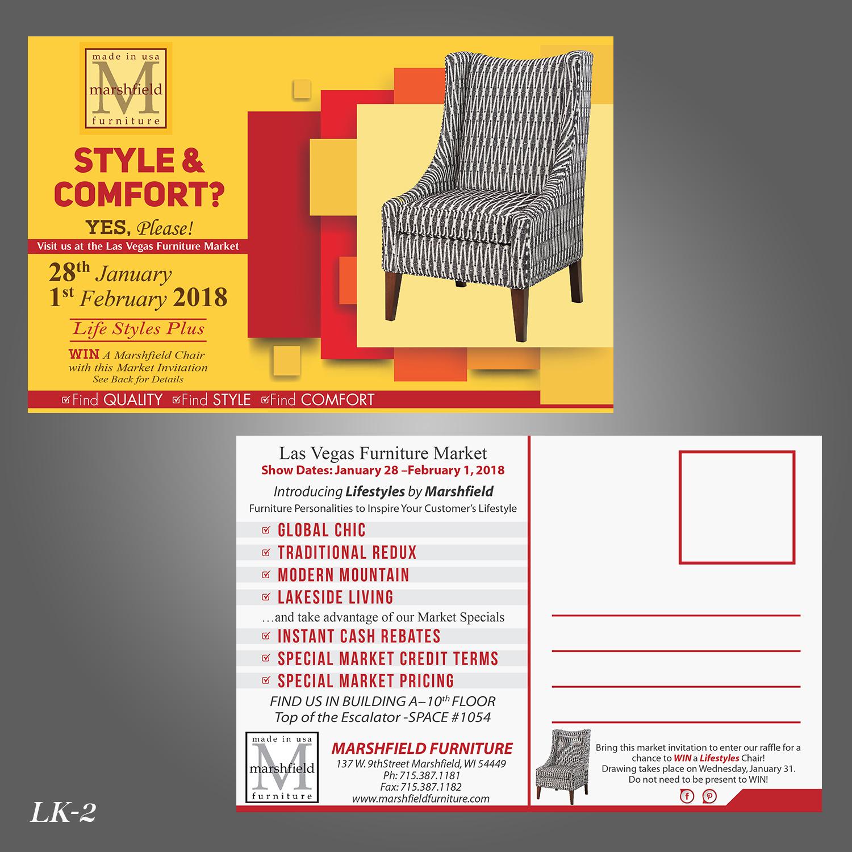 upmarket professional home furnishing postcard design for rh designcrowd nl