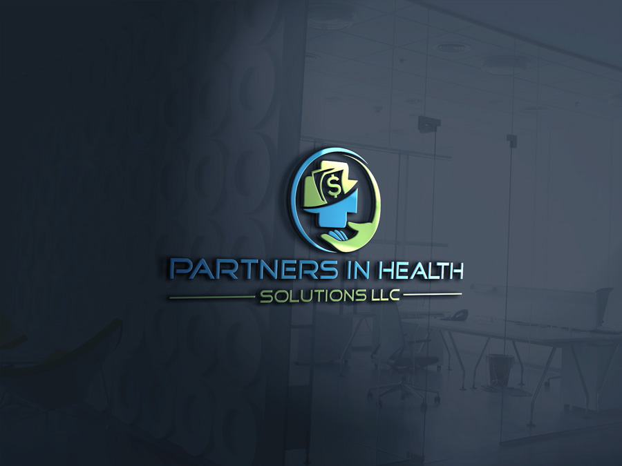 Bold Serious Health And Wellness Logo Design For Partners In