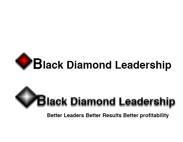 Logo Design By Ts Computer Graphic For Black Diamond Leadership Design 16919217