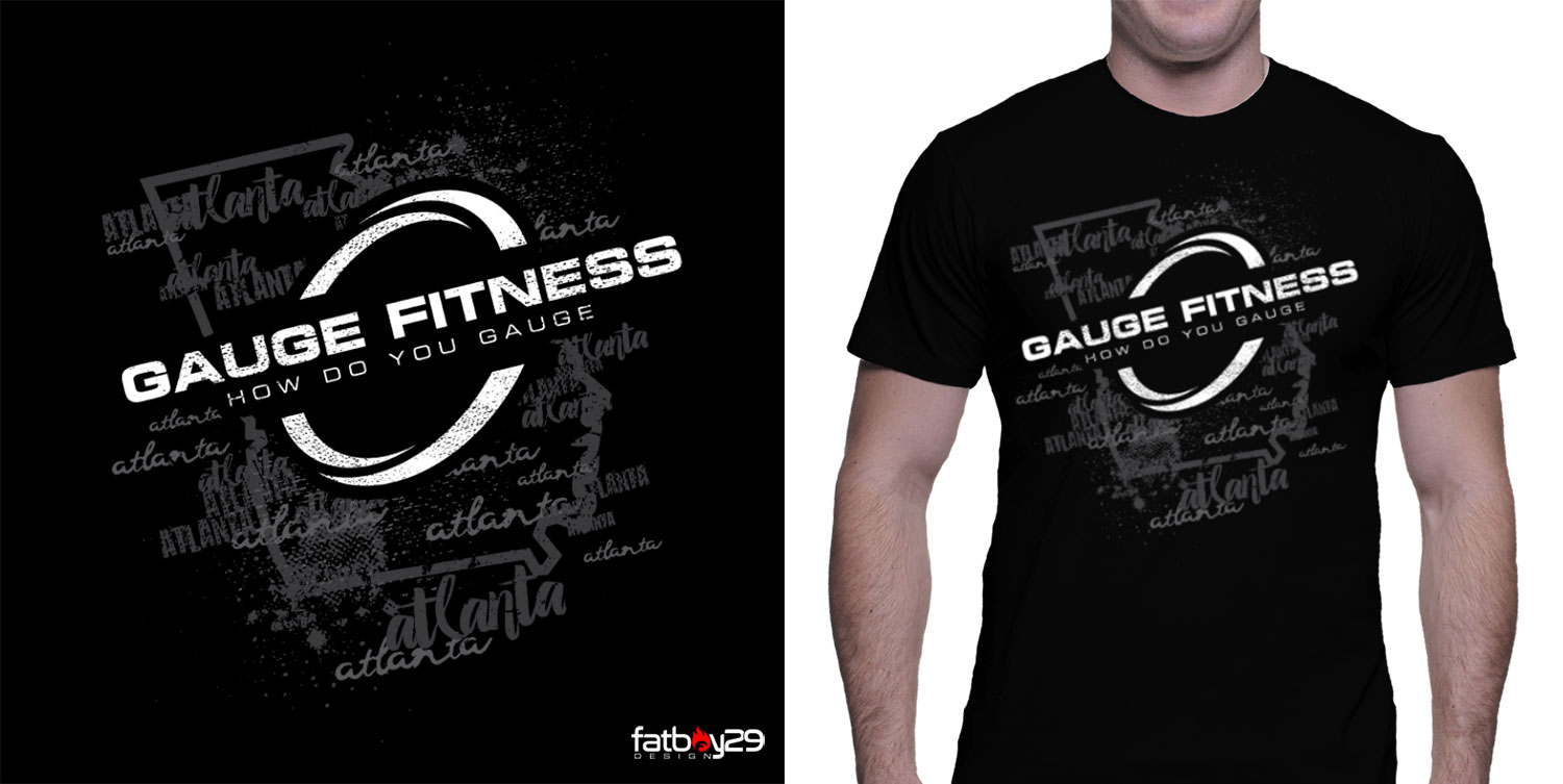 Bold Serious Fitness T Shirt Design For A Company By Fatboy Design