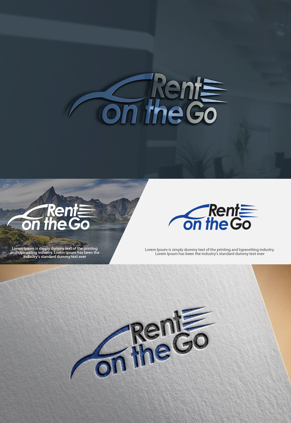 Elegant playful car rental logo design for rent on the go by elegant playful car rental logo design for a company in kuwait design 16882225 reheart