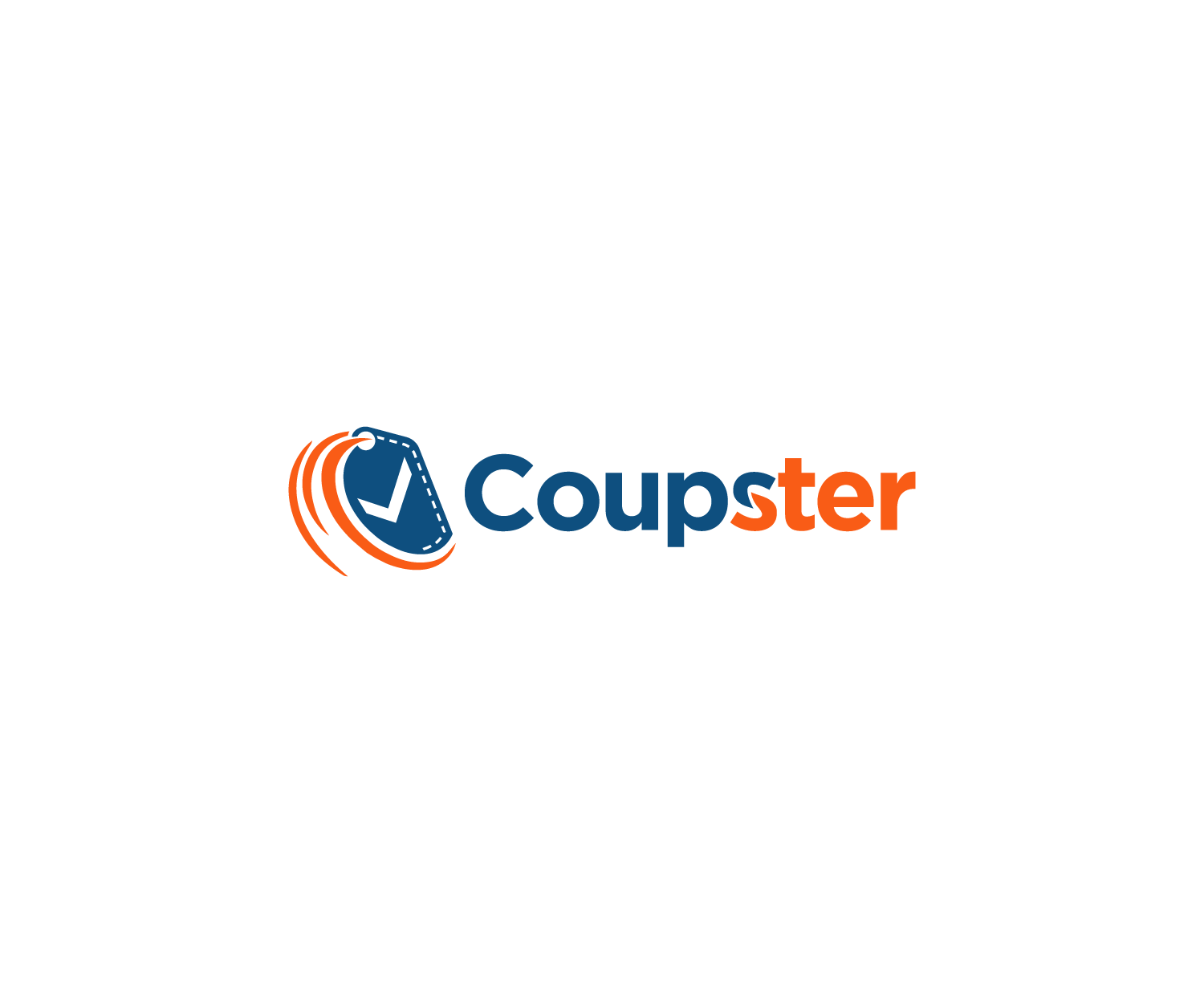 Professional Bold Coupon Logo Design For Coupster By Mario