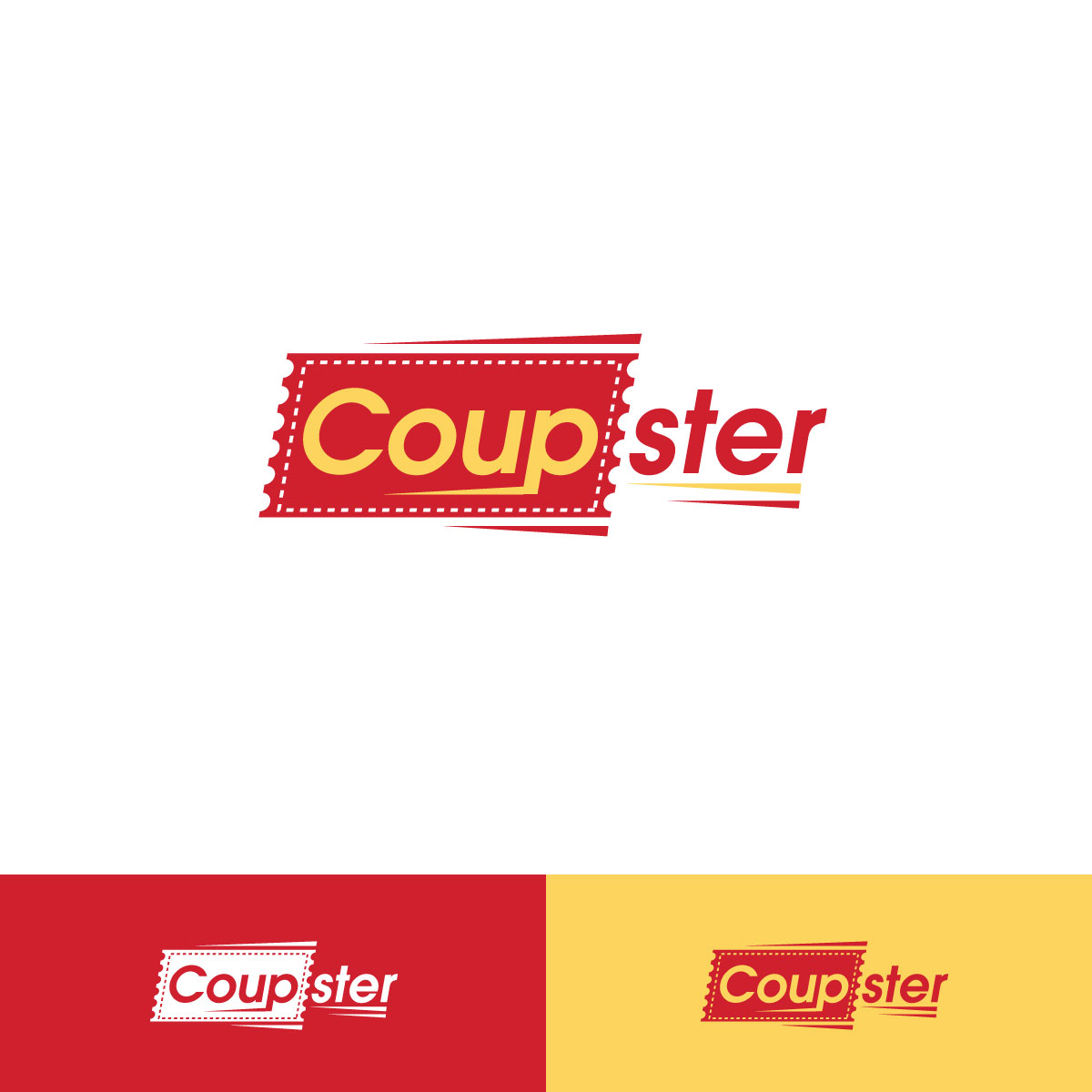 Professional Bold Coupon Logo Design For Coupster By R R Design
