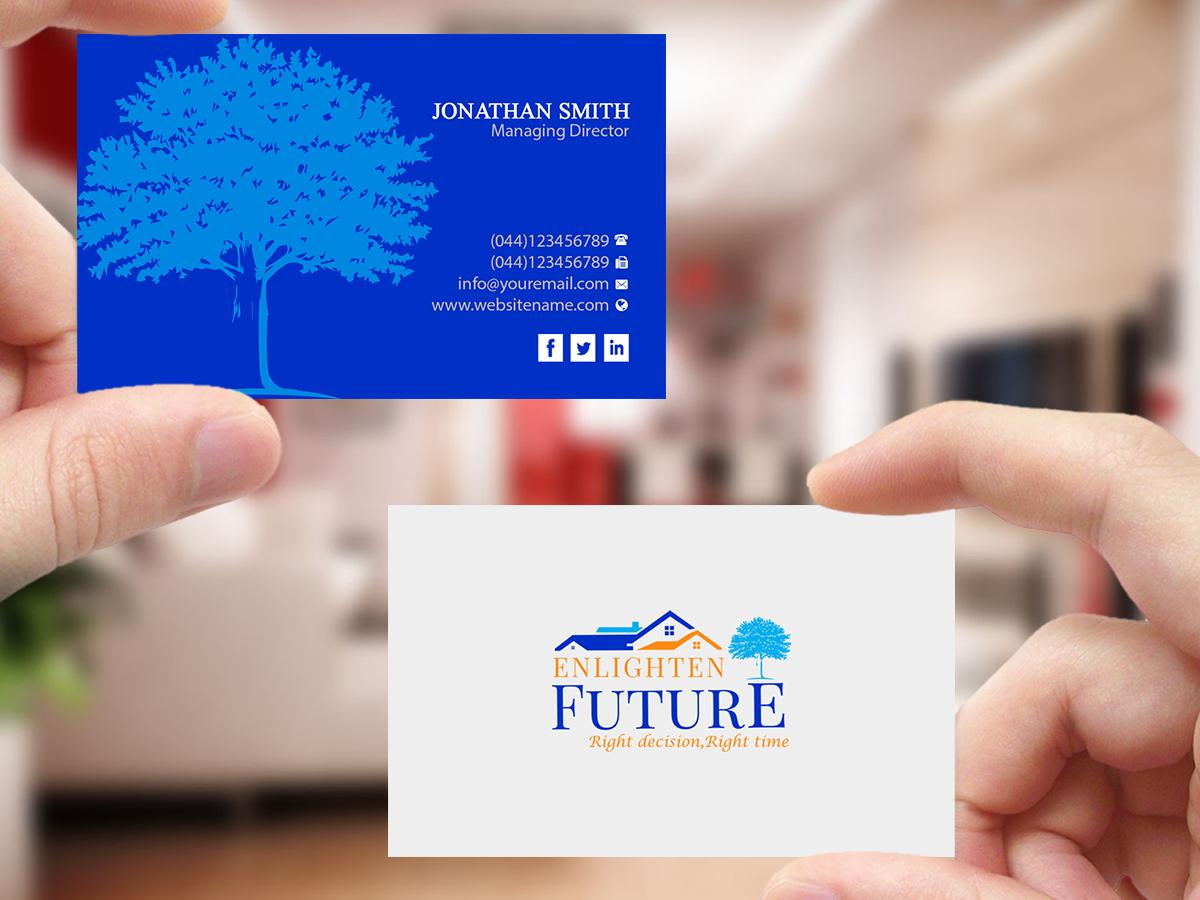 Elegant, Playful, Mortgage Brokerage Business Card Design for a ...