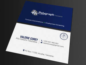 Bold professional business card design job business card brief for business card design job business card for polygraph business in africa winning design by colourmoves