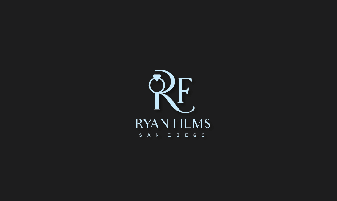 Professional Masculine Wedding Photography Logo Design For Ryan Films San Diego By Jizzy123 Design 17080611