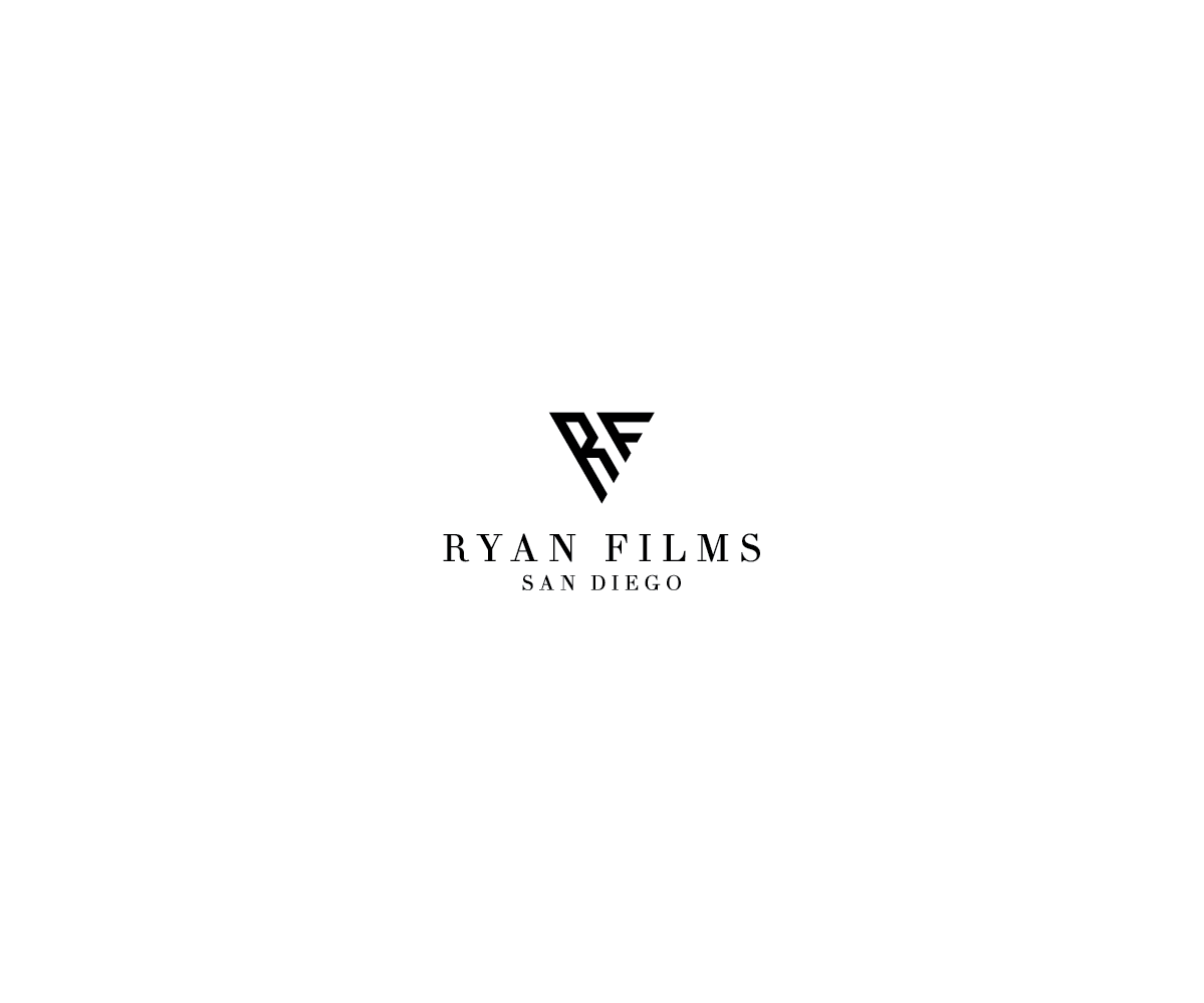 Professional Masculine Wedding Photography Logo Design For Ryan Films San Diego By Nautilus Design 17053225