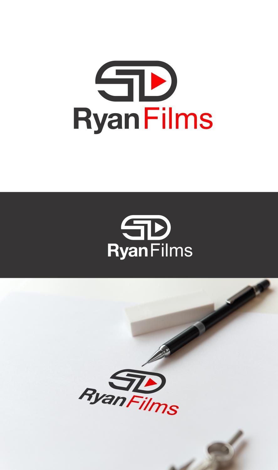 Professional Masculine Wedding Photography Logo Design For Ryan Films San Diego By Optimistic Studio Design 17144803